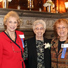 Photo/Reba Saldanha  (from left) Joan Griffin of Wyndham, Sister Josette Parisi of Windham, and Lorraine Routhier of Derry at the retirement celebration of castle manager Sister Josette Parisi at Searles Castle in Windham, NH Sunday November 8, 2015.