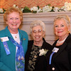 Photo/Reba Saldanha  Castle manager Sister Josette Parisi, center, poses with Peggy Orroth, left, and Joanne Parent, all of Windham at Searles Castle in Windham, NH Sunday November 8, 2015.