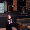 PAUL BILODEAU/Staff photo<br /> <br /> Donna Corbett of The Quannapowitt Players at the Reading theater.