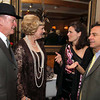Photo by Frank J. Leone, Jr./ Special to The Andover Townsman      Evening's honorees, from left, Jack and Therese O'Connor<br /> of Lowell with Katie and Dave McGillivray of North Andover,    <br /> at the 11th Annual Spirit of Giving Speakeasy Gala to Benefit Ironstone Farm, Andover.<br /> 11-16-13