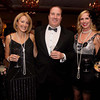 Photo by Frank J. Leone, Jr./ Special to The Andover Townsman     Seen at event, from left, Merit Tukiainan, Nancy Angell,<br /> David Pierre, Stacy Gillis and Andrea Carlin, all of Andover,     <br /> at the 11th Annual Spirit of Giving Speakeasy Gala to Benefit Ironstone Farm, Andover