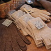 MARY SCHWALM/Staff photo Gloves made from Alpaca. 12/21/14
