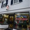 RYAN HUTTON/ Staff photo<br /> The Andover Barber Shop.