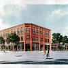 Artist's rendering of the M.F. Charles building in Reading.