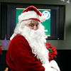 MARY SCHWALM/Staff photo Santa prepares to greet kids at Austin Prep in Reading. 12/8/13