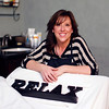 MARY SCHWALM/Staff photo Jennifer Cianpa at Skin Savvy in North Reading 12/4/13