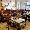 Breakfast at Christopher's Restaurant.  PAUL BILODEAU/Staff photo.