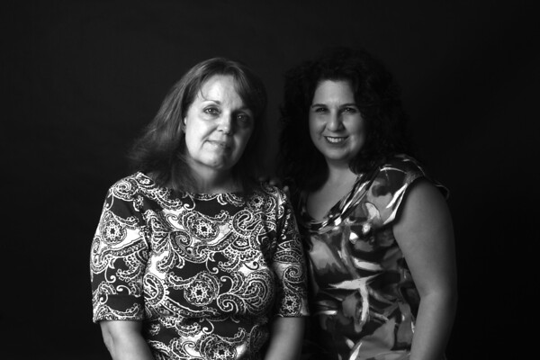 Heather LoRe, left, who has stage IV breast cancer, -started the support group Hope and Friendship Metastatic Breast Cancer Support Group and Foundation she is with Rev. Marie J. Lucca is the group facilitator.Photo Amy Sweeney,