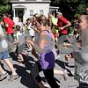 Runners start on the course for the The Fall Street 5K on Prescott street in Reading on Sunday September 7. Photo by Maria Uminski