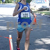 Erin Hickey-Reardon of Reading finished first in the womens category for the The Fall Street Five-K in Reading with a time of 21:07. Photo by Maria Uminski