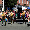 Jim Vaiknoras/staff photo. Dancers from The Encore Dance Academy perform during the Reading Fall Street Faire on Albiion Street.