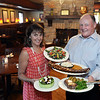 CARL RUSSO Staff photo. READINGS:  Pat and Kathi Lee, owners of the Horseshoe Grille on Rt. 28 in North Reading are celebrating the restaurant's 90th. anniversary.  7/8/2016
