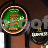 JIM VAIKNORAS/Staff photo Irish beer signs at Bunratty's in Reading.