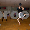 JIM VAIKNORAS/Staff photo Sebastian Amico, center, with the Competitive Dance Team at Lapierre Dance Studio.