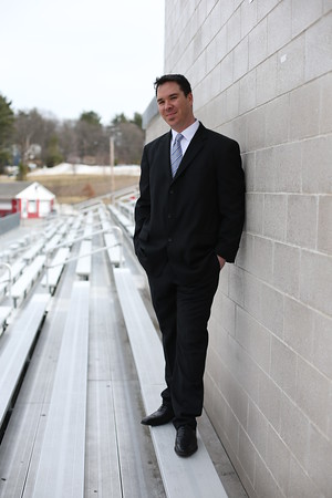 MARY SCHWALM/Staff photo Billy Tucker poses for a photo at Reading High School 4/6/15