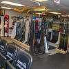 AMANDA SABGA/Staff photo. <br /> <br /> Skate repairs and sharpening are offered at Dynamik Sports, a small independent sports apparel store in Reading, has been in business since 1984.<br /> <br /> 9/28/17
