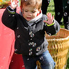TIM JEAN/Staff photo  <br /> Nathan Bova, 3, tries to catch bubbles at the Coco, Early & Associates table during Windham Harvest Fest at Griffin Park. 10/17/15