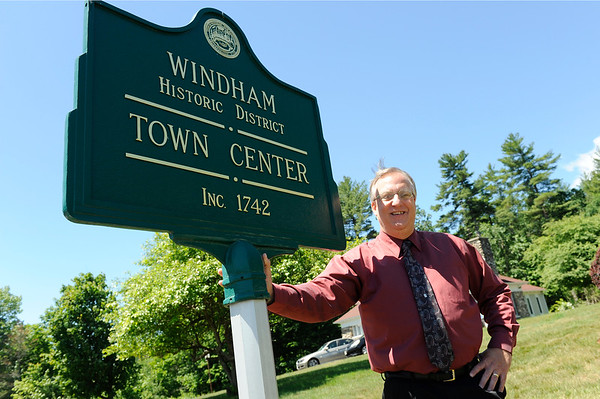 TIM JEAN/Staff photo<br /> Dave Sullivan, Windham Town Administrator.    6/14/16