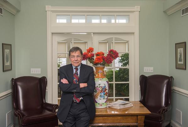 AMANDA SABGA/ Staff photo <br /> <br /> Anthony DiFruscia of DiFruscia Law Offices in Methuen. <br />  <br /> 2/8/16
