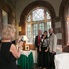 REBA SALDANHA/Photo (from left) Kitty Kambol of Salem, NH Richard and Brenda Gurall of Loudon, NH, and Sam Kambol of Salem tour the Searles Castle during the 100th Anniversary celebration in Windham, NH Saturday May 16, 2015.