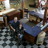 AMY SWEENEY/photo.<br /> Richard and Carolyn Leiter, owners of REVIVED Furniture located a 2 Island Pond Road in Derry.
