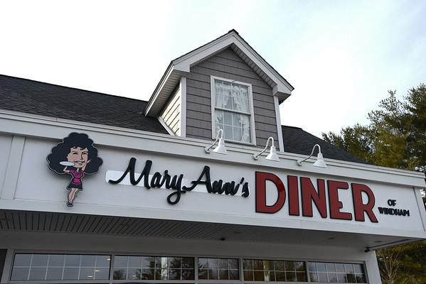 RYAN HUTTON/ Staff photo<br /> Mary Ann's Diner of Windham.