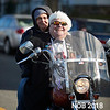 Joe Amore & Dawn Bartlett enjoy a ride through the Beverly Holiday Parade, Sunday, November 26, 2017. Jared Charney / Photo
