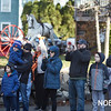 Residents watch the Beverly Holiday Parade, Sunday, November 26, 2017. Jared Charney / Photo