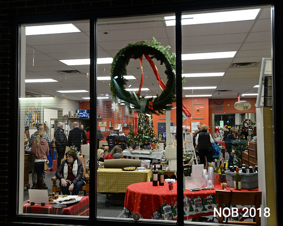RYAN HUTTON/ Staff photo<br /> The Beverly Bootstraps Thrift Shop during it's fundraising event on December 7.