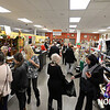RYAN HUTTON/ Staff photo<br /> People browse the housewares section of the Beverly Bootstraps Thrift Shop during the shop's fundraising event on December 7.