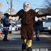 An eagle arrives for the Beverly Holiday Parade, Sunday, November 26, 2017. Jared Charney / Photo