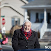 Charlie Bucci, Grand Marshall of the Beverly Holiday Parade, Sunday, November 26, 2017. Jared Charney / Photo