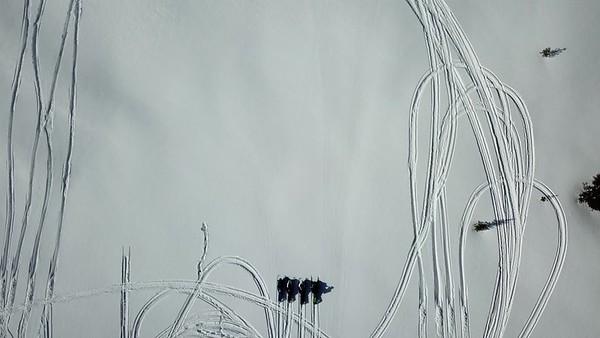 AmSnow 2018 Western sled eval Drone Footage RLT-0028