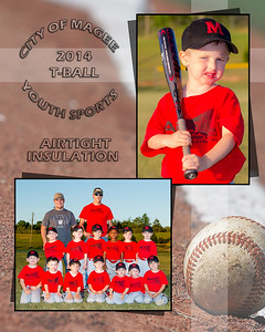 City of Magee T-Ball 2014