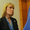 Maggie Hassan At Signing Of Senate Bill 464 At Hillsborough County Superior Court North In Manchester, NH