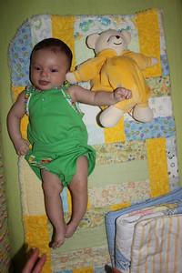 Thirteen weeks old!