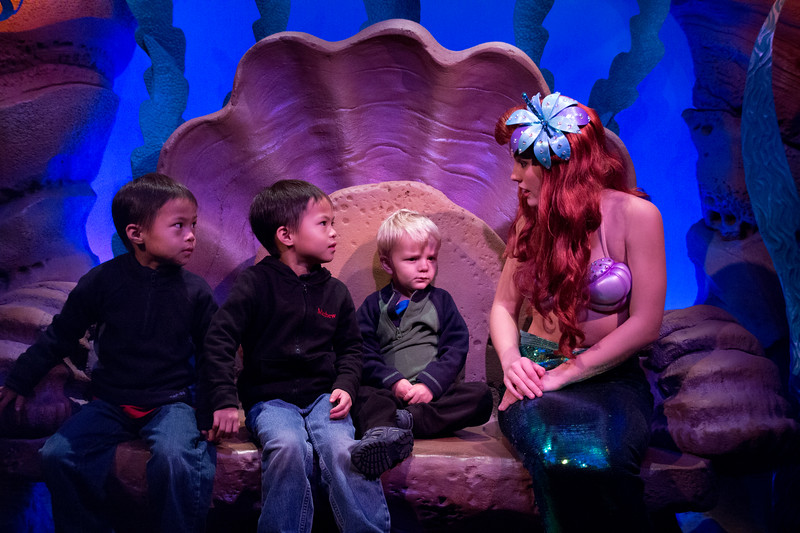 Ariel Character Greeting