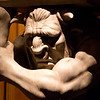 Gargoyle inside Be Our Guest