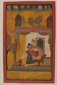 Basoli style painting