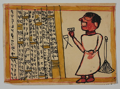 Astrologer with numbers