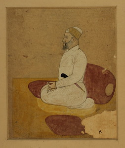 Adwa Beg The Govenor of Lahore Pahari 1750