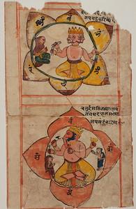 Mantra Chakras with Gaṇeśa and Brahmā?