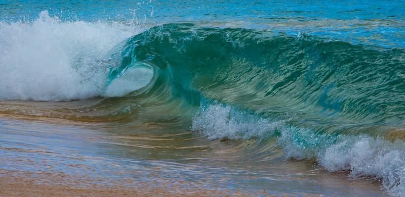 the wave break