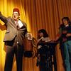Bob Killian performing the Snake Basket, December 1984, Wetherfield High School Auditorium, SAM21 fundraiser