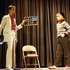 Clint Billups performing Mental Epic, December 1984, SAM21 fundraiser