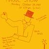 Flyer for the SAM #21 magic show at Newington Children's Hospital, October 30, 1985
