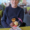 Enjoying some gelato in Bellagio