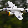 Ziroli B25 on a low fly by.  Owned / flown by Pedro Sanchez