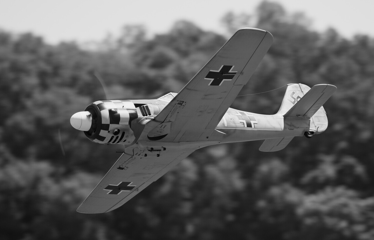 FW 190, ZDZ 160 twin.  Pedro Sanchez pilot