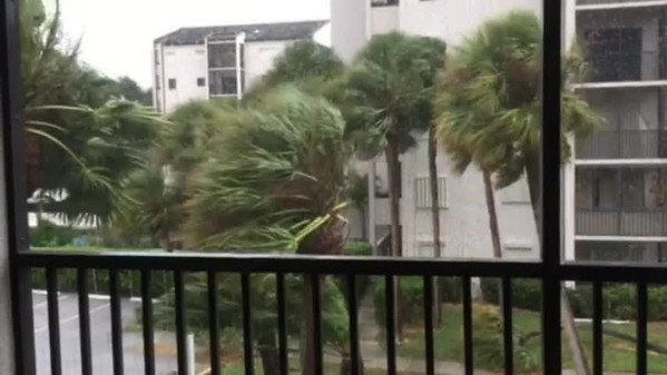 Hurricane Irma hits North Palm Beach